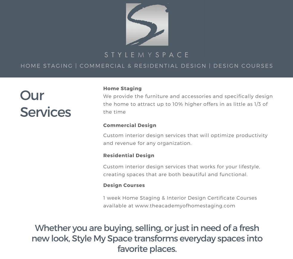 StyleMySpace.com Blog